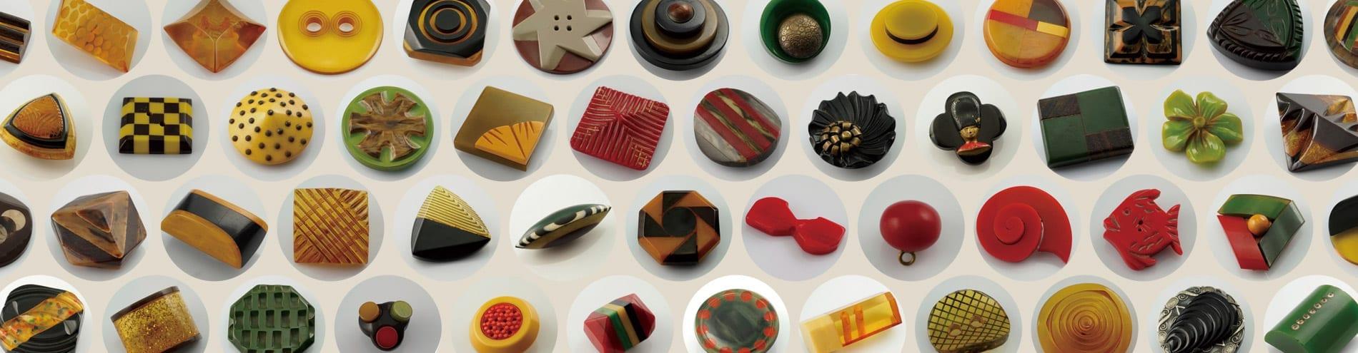 Button Gallery Bakelite